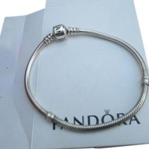 Authentic Pandora  charm bracelet  7.5